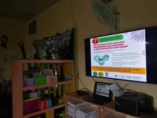 Continuation in IEC on COVID-19 in Different Elementary and High Schools
